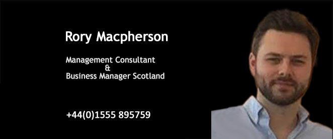 Management Consultant and Business Manager Scotland